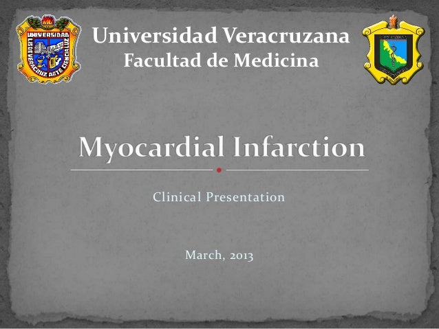 """Myocardial infarction"""