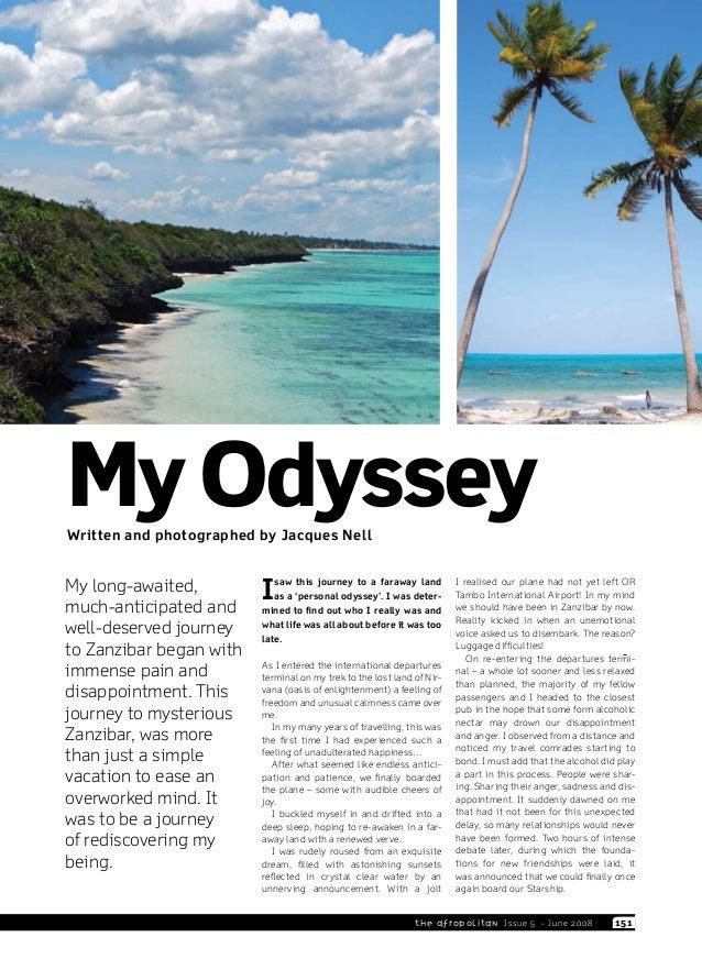 My Odyssey - Zanzibar