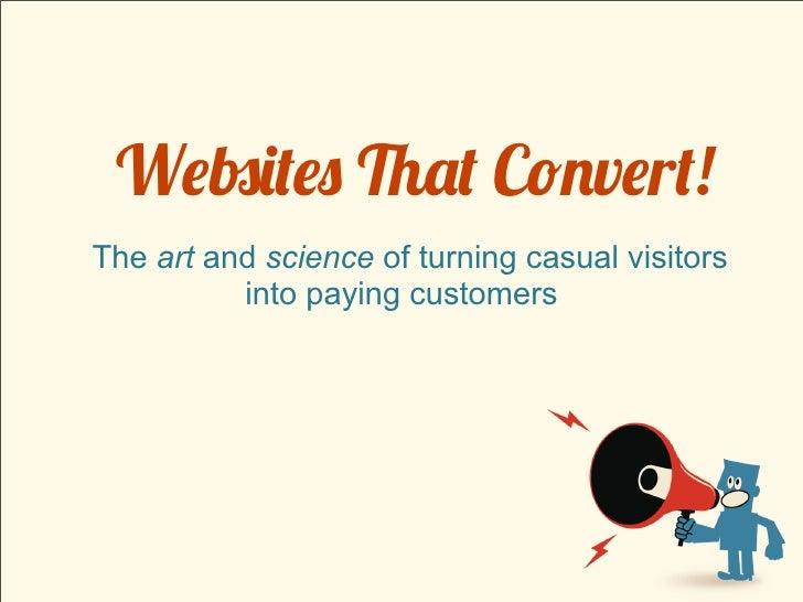 Websites That Convert!