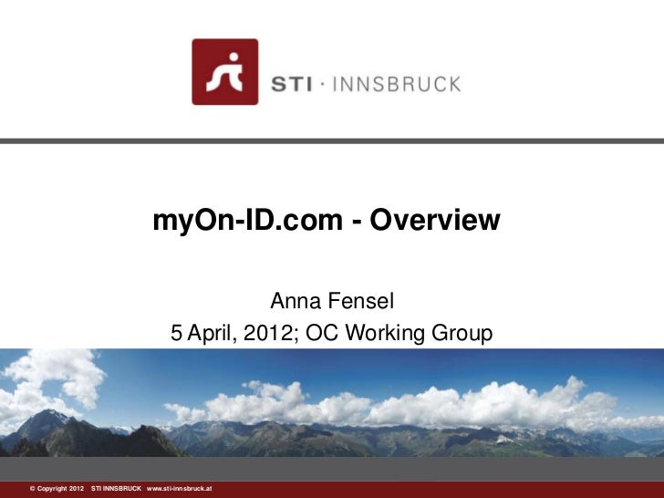 myOn-ID.com - Overview                                                   Anna Fensel                                      ...
