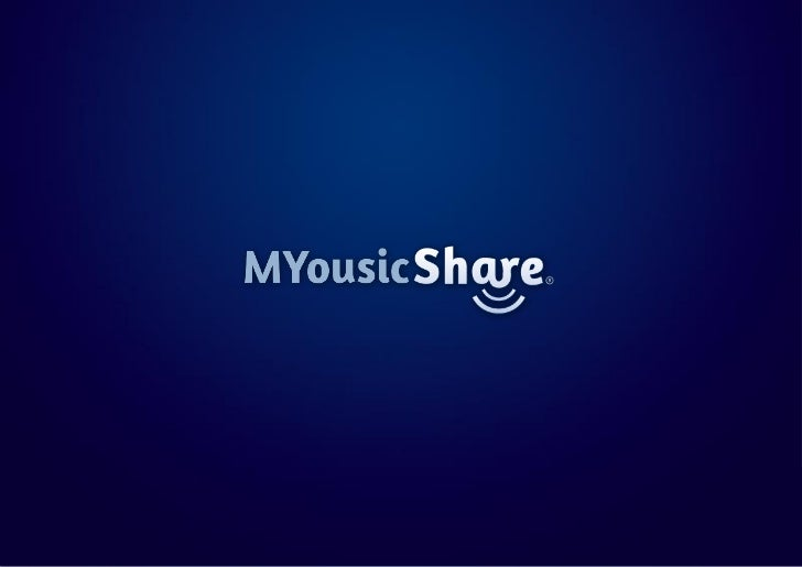MYousic Share Presentation Deck