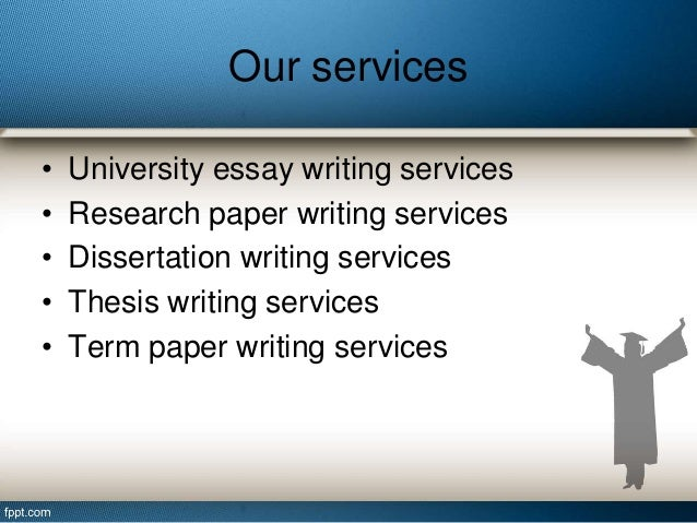 Academic essay writing services
