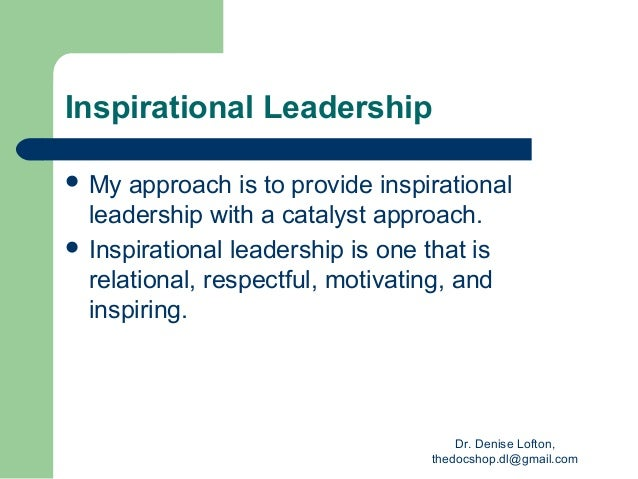 Personal statement leadership
