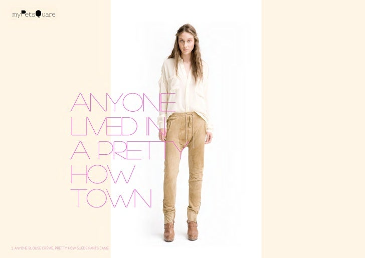 1. anyone blouse crème, pretty how suede pants came