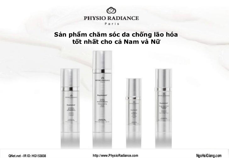 MyPhamPhap - PhysioRadiance - QNet Viet Nam - NgoHaiGiang.com