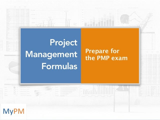 project management calculations and formulas pdf