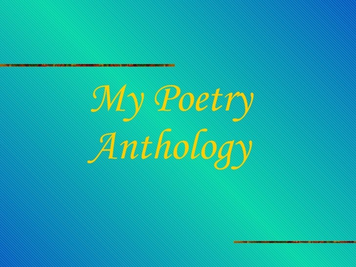 Kelly\'s Poetry Anthology