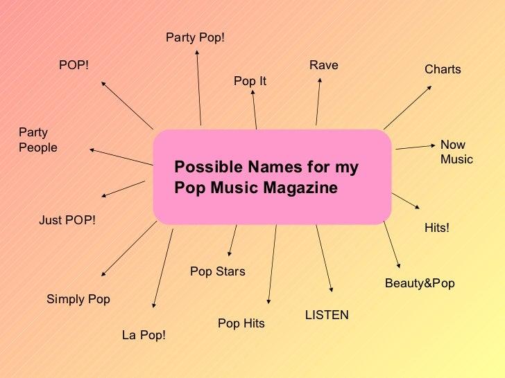 Writing pop music