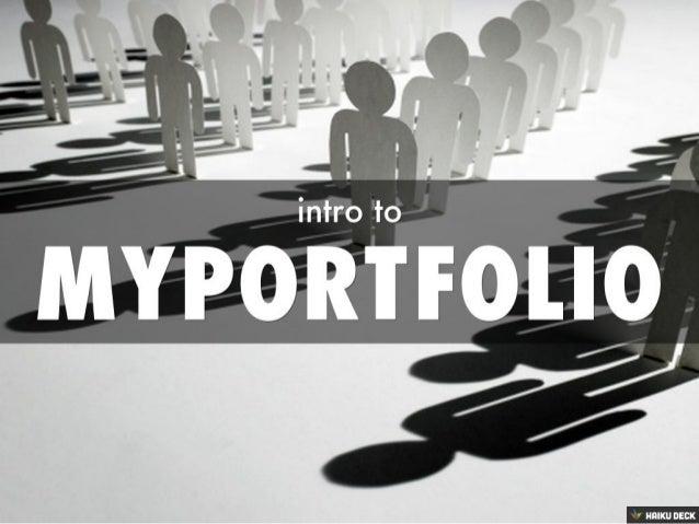 MyPortfolio