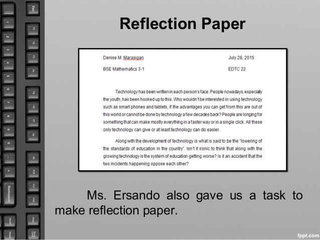 self reflection communication essay Free self-reflection papers max born said in his essay, reflection, but personal reflection of communication and areas of improvement - lots of.