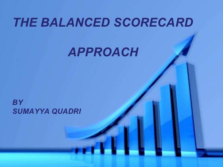 Presentation on Balanced Scorecard