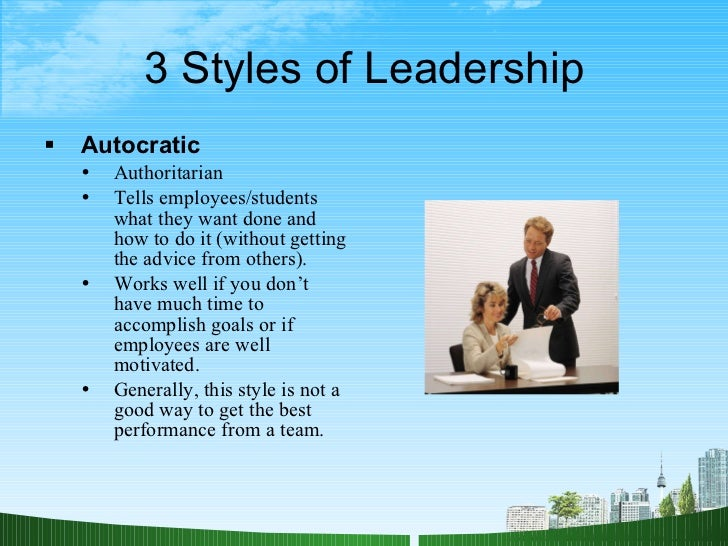 summary of my leadership style 14 research hypothesis 15 significance of the study 16 the scope of the study 17 organization of the study 18 the research environment 19 definition of key terms 110 chapter summary chapter two literature review 21 leadership in perspective 211 antecedents of leadership 212 leadership styles.