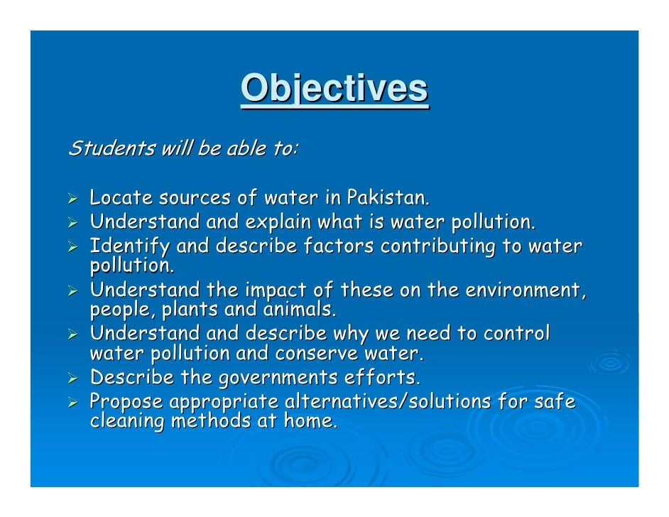 Water Pollution for Kids Powerpoint - playitaway.me