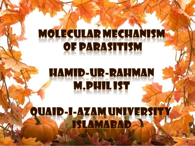 Molecular Mechanism Of Parasitism