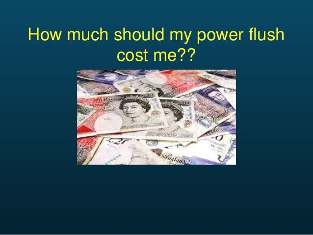 How much should a power flush cost me?