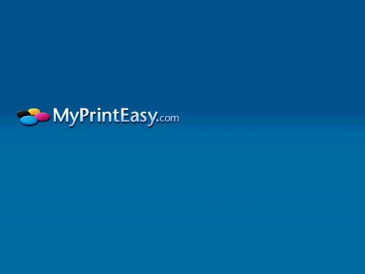 MyPrintEasy - Online Printing Company California