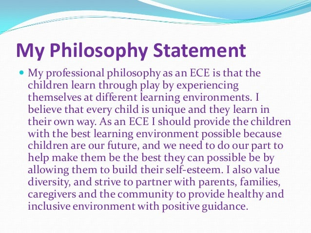 thesis early childhood care education A thesis submitted to institute of educational research for early childhood care and education (ecce) to provide a holistic and comprehensive.