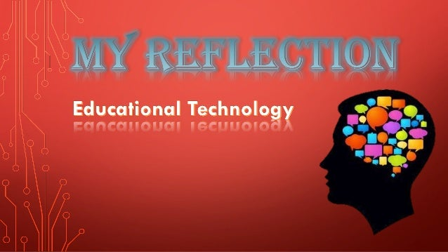 My course reflection show 1