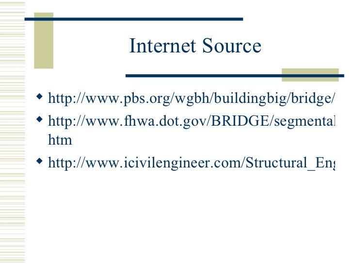 Internet source in a research paper