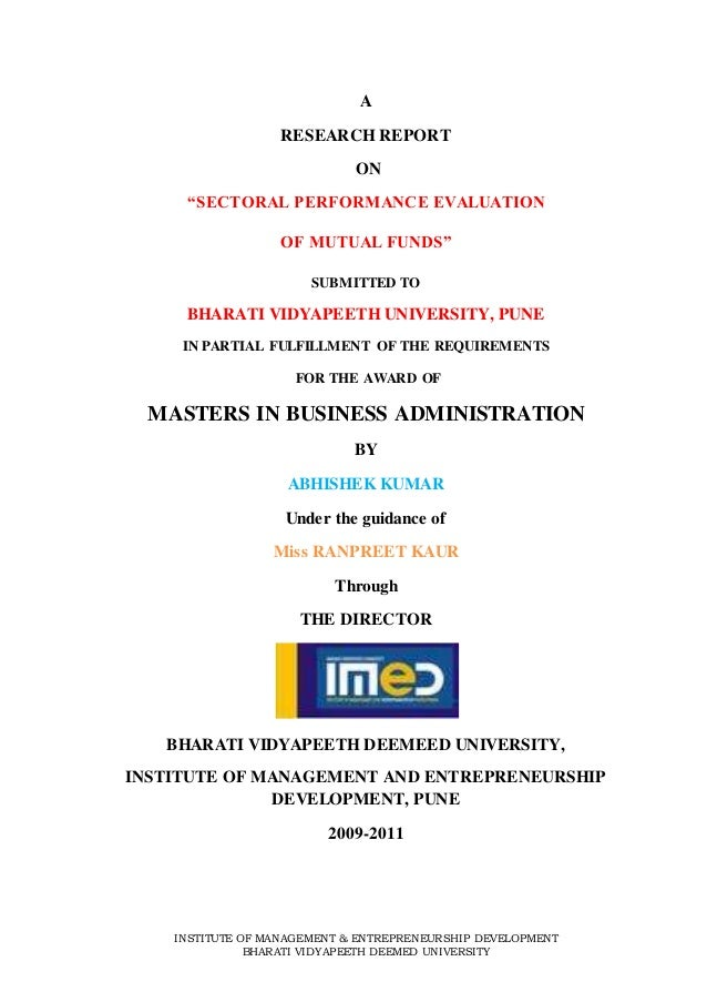 thesis on performance evaluation of mutual funds This thesis is brought to you for free and open access by the qian, jing, evaluation of hedge funds performance in mutual fund performance evaluation.