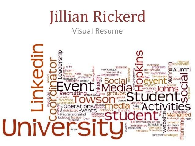 Jillian Rickerd Visual Resume