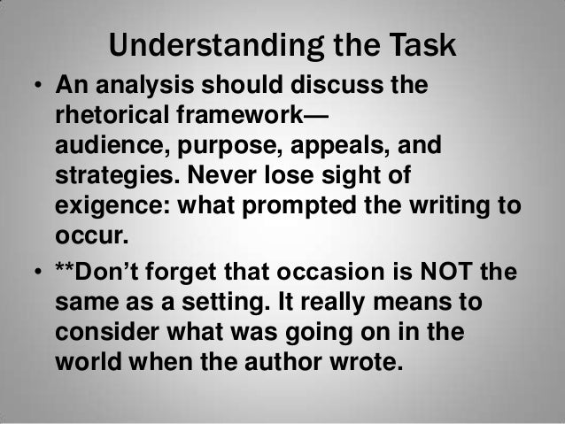define the purpose consider the audience and develop the thesis Online writing lab develop and sustain a specific audience is to incorporate the audience into the thesis statement the following are examples of thesis.