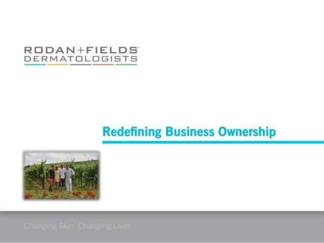 My rodan & fields