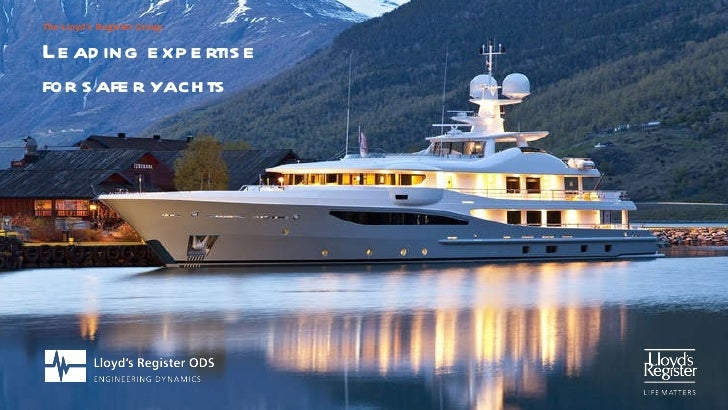 Leading expertise  for safer yachts