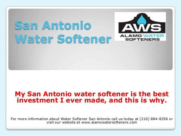 San Antonio Water Softener  My San Antonio water softener is the best investment I ever made, and this is why. For more in...