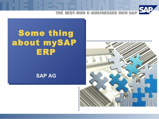 Some thingabout mySAPERPSAP AGSome thingabout mySAPERPSAP AG