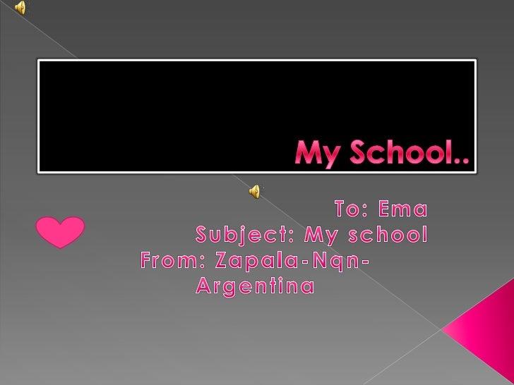 My school-  Gimena Matzen
