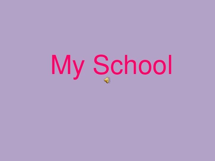 My school lucia troncoso