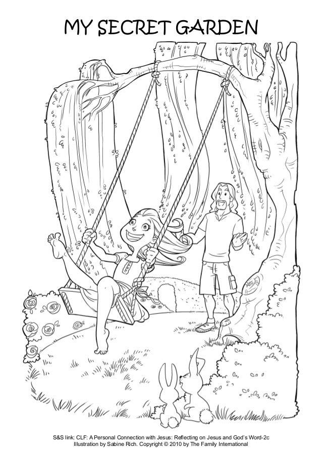 coloring pages hard secret garden - photo#28