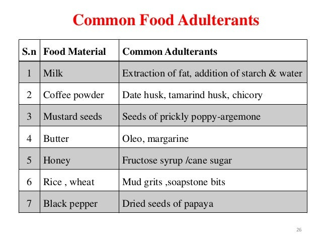 milk adulteration and its toxicological effects Toxic adulterants to food or other products for human consumption is known as  poisoning  it's harmful effect is that it is highly carcinogenic and if consumed   paneer, khoya, condensed milk and milk:here adulterant is starch (used to give.