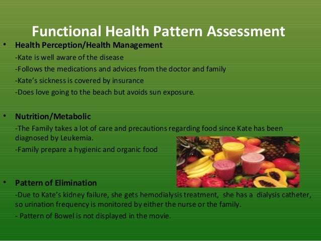 functional health pattern
