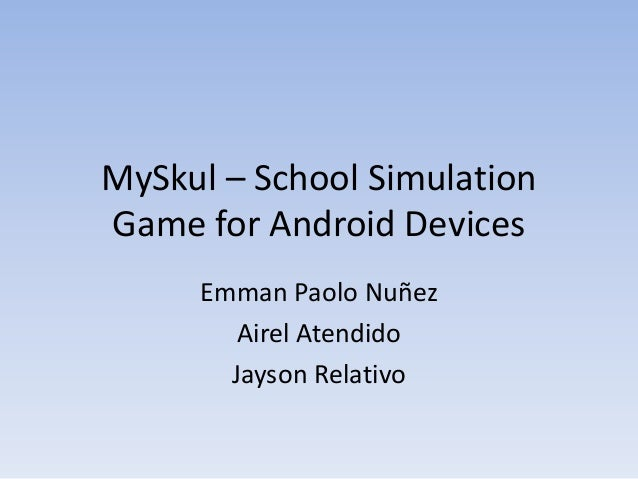 MySkul – school simulation game for android devices