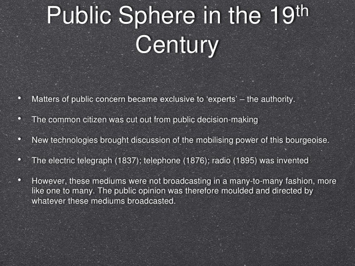 My slides for public sphere