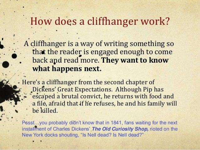 Cliffhanger definition