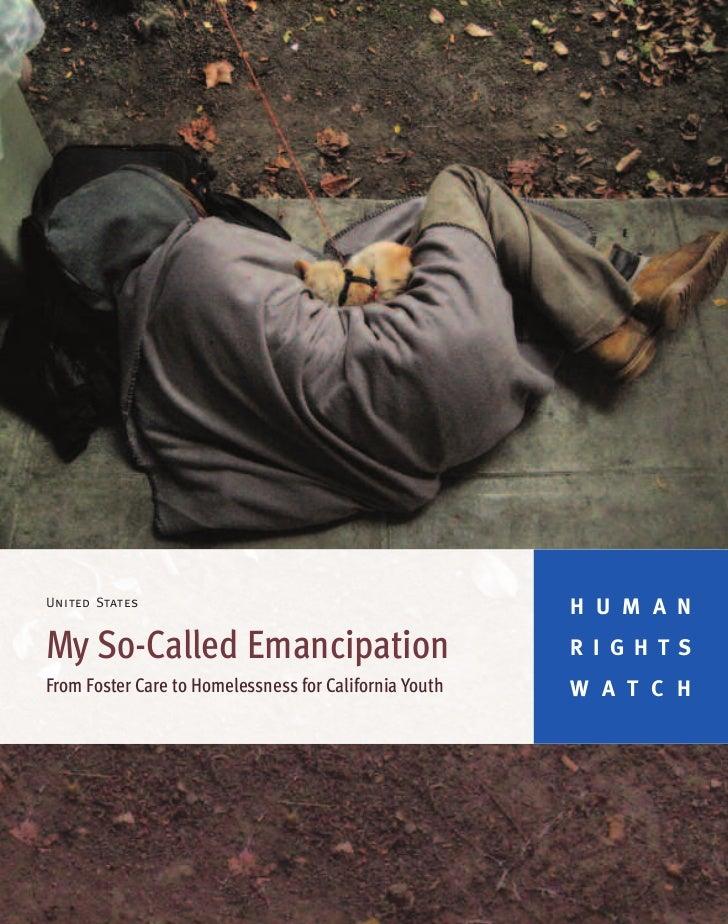 United States                                                        H U M A NMy So-Called Emancipation                   ...