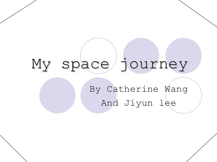 My Space Journey