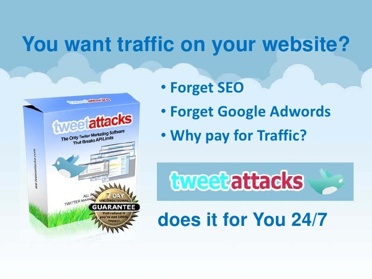 You want traffic on your website?               • Forget SEO              • Forget Google Adwords              • Why pay f...