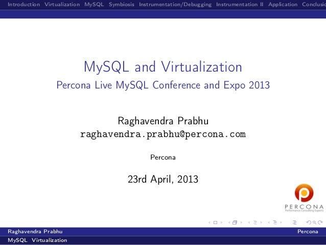MySQL-and-virtualization