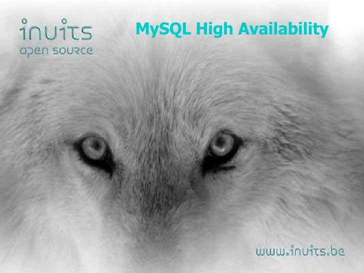 MySQL High Availability