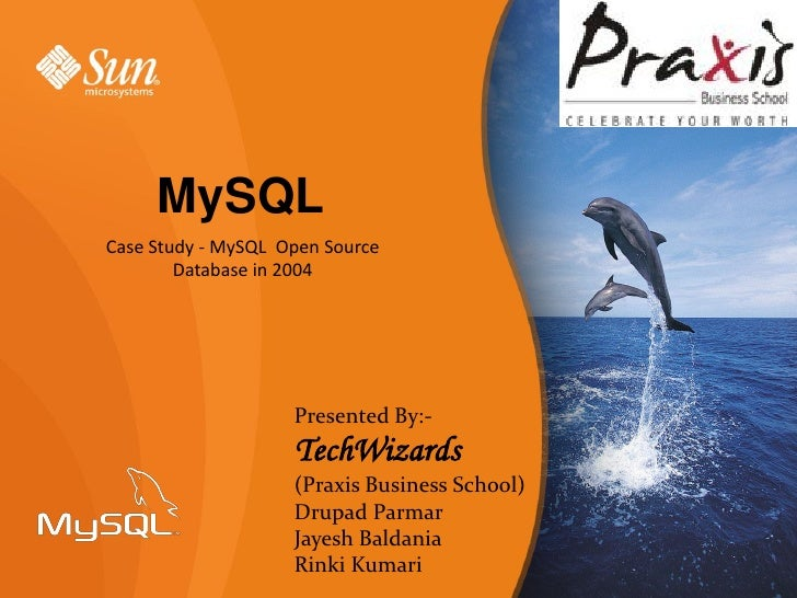 My sql open source database in 2004