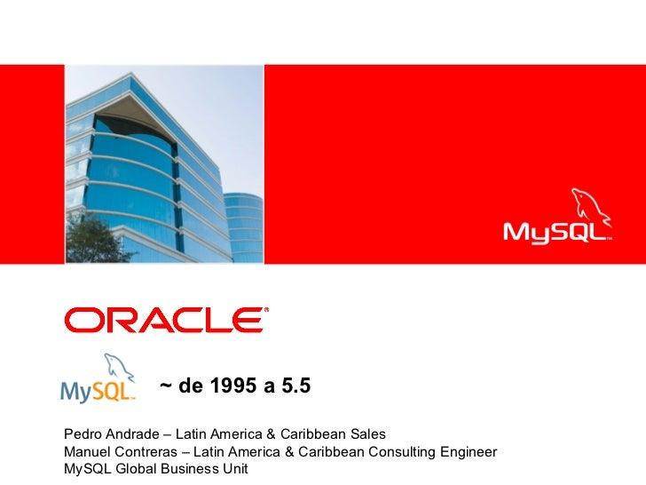 <Insert Picture Here>              ~ de 1995 a 5.5Pedro Andrade – Latin America & Caribbean SalesManuel Contreras – Latin ...