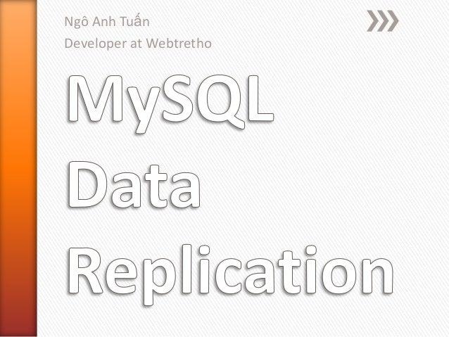 Mysql data replication