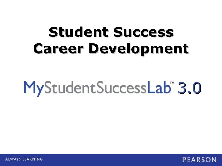Student Success Career Development 3.0