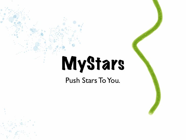MyStarsPush Stars To You.