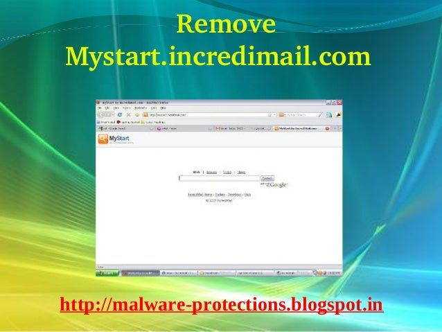Delete Mystart.incredimail.com : How to delete Mystart.incredimail.com