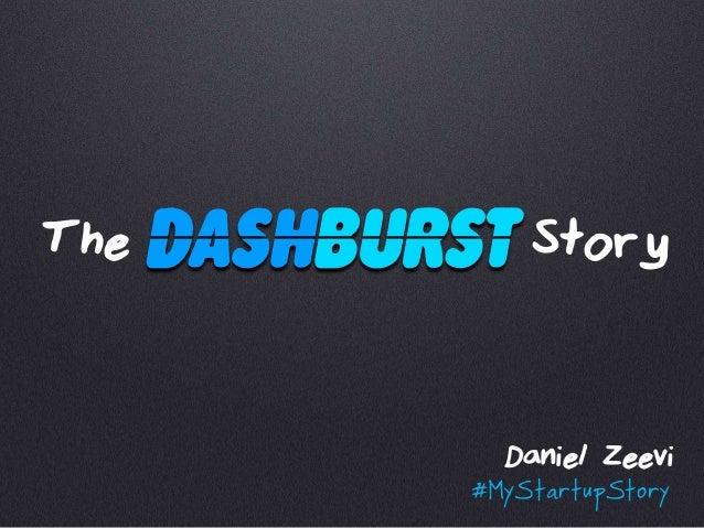 The Story Daniel Zeevi #MyStartupStory